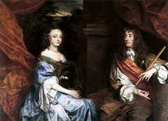 James and Anne Hyde in the 1660s, by Sir Peter Lely