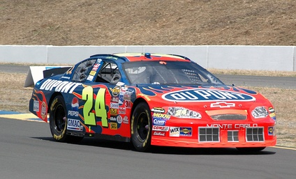 Jeff Gordon at the 2005 race