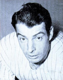 DiMaggio in 1951, his last year in baseball