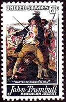 Trumbull commemorative postage stamp, 1968