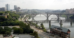 Bridges over the Tennessee River