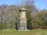 Monument to Sir Bevil Grenville at National Grid Reference ST7219 7034
