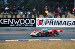This Mazda 787B became the first Japanese car to win the 24 Hours of Le Mans.