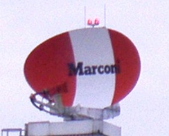 Marconi S511 radar located at Norwich International Airport