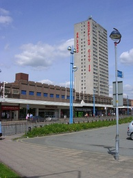 Salford Precinct was opened in the 1970s