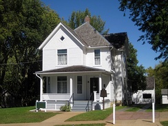 Ronald Reagan's boyhood home in Dixon, Illinois
