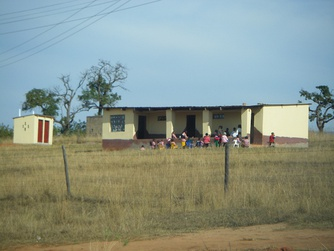 A rural primary school in Eswatini