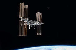 The International Space Station as seen by the final STS mission