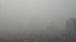 Huangpu District during the 2013 Eastern China smog