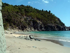 Shell Beach (Anse De Grand Galet).