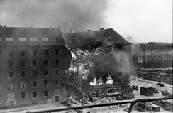 The RAF's bombing of Gestapo headquarters in March 1945 was coordinated with the Danish resistance movement