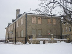 Most of the 400 structures at Fort Snelling began falling into disrepair after the fort closed in 1946.