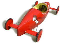 An official Soapbox derby racer from 1967