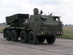 RM-70 multiple rocket launcher