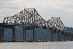The Tappan Zee Bridge, linking Westchester and Rockland counties, is the second-longest bridge in the northeastern United States.