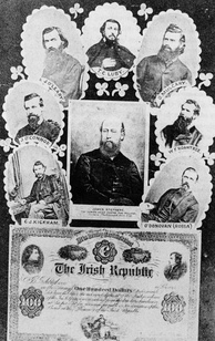 Some of the founding members of the Irish Republican Brotherhood