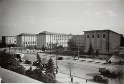 Main facade of the National Museum, 1938