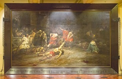 """Spoliarium"", displayed at the National Museum of the Philippines"