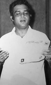 "Pakistani singer Ahmed Rushdi, known as ""Magician of Voice"", was the first regular pop singer of South Asia."