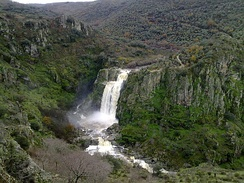Arribes del Duero Natural Park, which is a special protection area for birds.