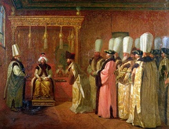 Audience of Charles de Vergennes with Sultan Osman III in 1755, Pera Museum, Istanbul