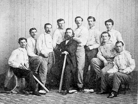 Atlantic of Brooklyn, 1869 champions