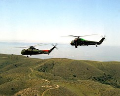 CH-37C and UH-34D of the United States Marine Corps.