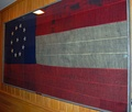Confederate National Flag captured from Fort Jackson