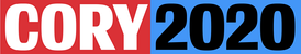 Logo for Booker's presidential campaign.