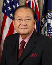 Daniel Inouye was a Medal of Honor recipient who served nearly 60 years in elected office as a Democrat. He was the first Japanese-American member of Congress.