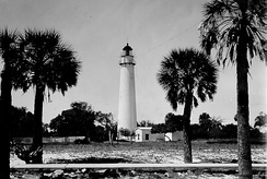 Historic Egmont Key Light is located in Tampa Bay, built in 1848 and commissioned by Col. Robert E. Lee. The island is on the National Register of Historic Places, and is a National Wildlife Refuge and a state park. Early in the Civil War, Confederate blockade-runners used the island as a base.