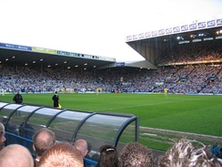 Elland Road hosts the play off semi-final against Preston in 2006