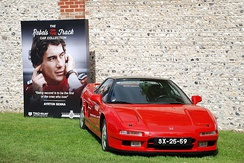 One of Senna's NSXs on display at the Goodwood Festival of Speed