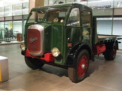 Foden F1 1931 diesel, on display at the Science Museum, London