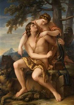 Apollo and Artemis, by Gavin Hamilton