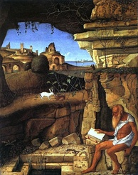 St. Jerome in the Desert, by Giovanni Bellini