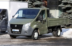 The GAZelle NEXT van, produced by GAZ, is popular on the light commercial vehicle market