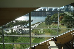 Interior of the Hunters Point Library