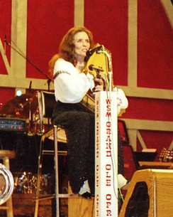 June Carter in 1999