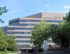 Lockheed Martin's Center For Leadership Excellence (CLE) Building in North Bethesda, Maryland
