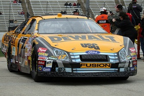 Matt Kenseth's 2007 Ford Fusion at Texas Motor Speedway.