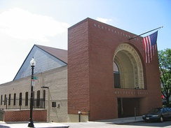 Matthews Arena in Boston, in use since 1910