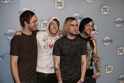 Screamo band The Used in 2007