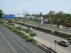 A highway leading into Pune