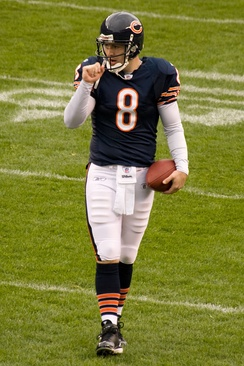 Rex Grossman, who led the Bears to Super Bowl XLI in 2006 (2003–2008)