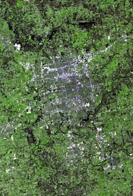 Satellite view of Springfield