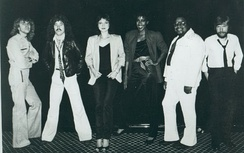 "Tillis (third from left) with ""Strutt"" Band, 1982"