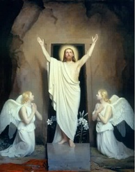 The Resurrection of Christ by Carl Heinrich Bloch, 1875.