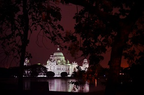 The Victoria Memorial in Kolkata, India