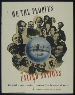 """WE THE PEOPLES OF THE UNITED NATIONS"""
